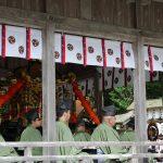 八幡神社 楽人